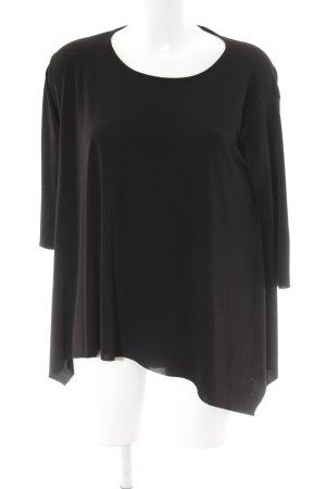Kontatto Camicia oversize nero stile casual