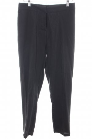 Kontatto Pantalone jersey nero stile professionale