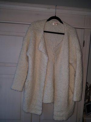 Kontatto Abrigo de punto crema