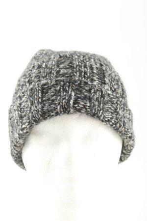 Kontatto Cappello a maglia grigio chiaro puntinato stile casual