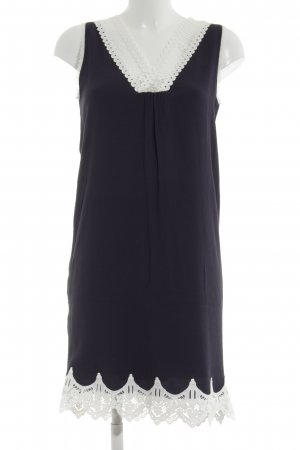Kookai Abendkleid schwarz-weiß Casual-Look