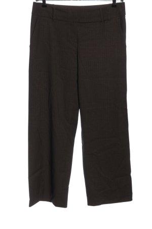 Kookai Anzughose schwarz-braun Streifenmuster Business-Look