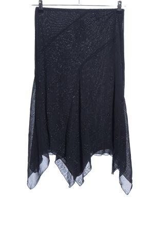 Kookai Asymmetrie-Rock schwarz Elegant