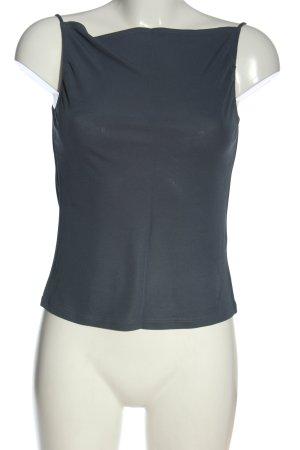 Kookai Basic Top blau Casual-Look