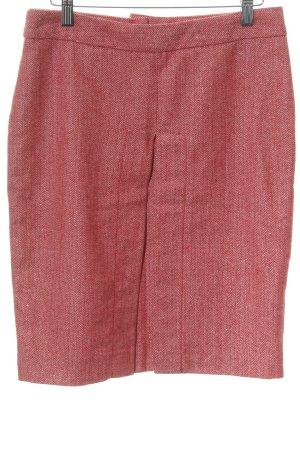 Kookai Bleistiftrock rot-rosé Glitzer-Optik