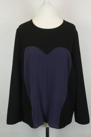 Kookai Bluse Gr. M schwarz blau Herz
