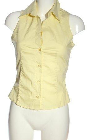 Kookai Top koszulowy kremowy W stylu casual