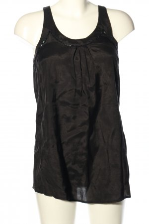 Kookai Blusentop schwarz meliert Elegant