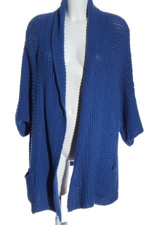 Kookai Kardigan niebieski Warkoczowy wzór W stylu casual
