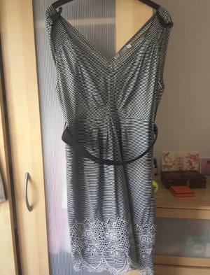 kookai gestreiftes Sommer Kleid / Minikleid / Spitze / 38