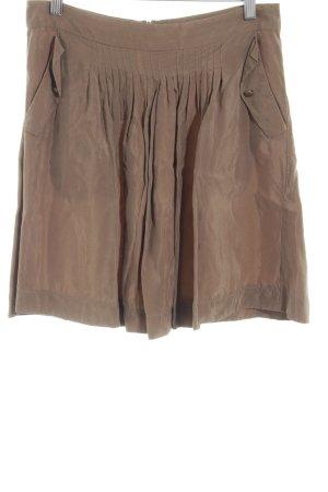 Kookai Glockenrock braun Street-Fashion-Look