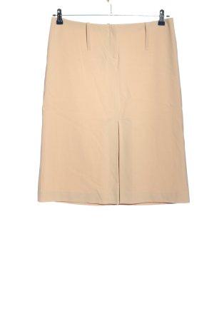 Kookai Falda de talle alto nude estilo «business»