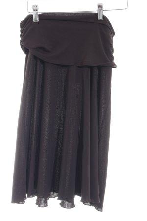 Kookai High Waist Rock dunkelviolett schlichter Stil