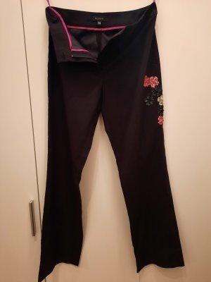 Kookai Pantalon strech noir-magenta