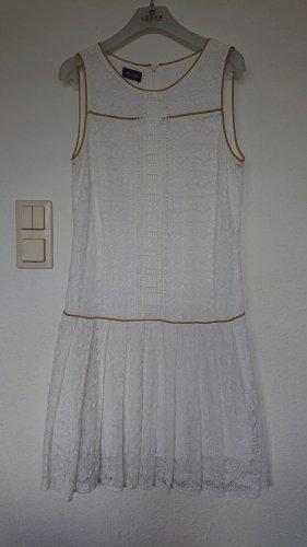 Kookai Letnia sukienka biały-złoto