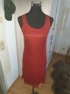 Kookai Sukienka o kroju litery A głęboka czerwień-bordo