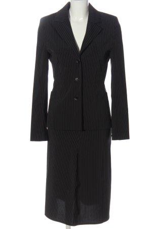 Kookai Kostüm schwarz-weiß Streifenmuster Casual-Look