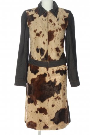 Kookai Tailleur motif animal style décontracté