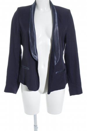 Kookai Kurz-Blazer dunkelblau klassischer Stil