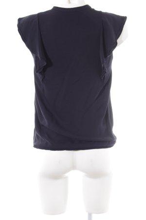 Kookai Bluzka z krótkim rękawem niebieski Elegancki