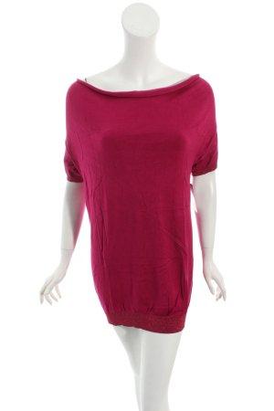 Kookai Short Sleeve Sweater magenta casual look