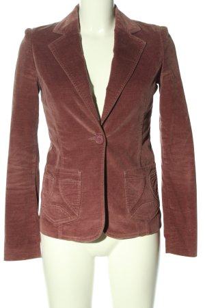 Kookai Korte blazer bruin casual uitstraling