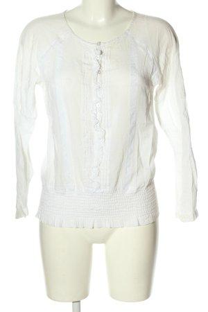 Kookai Bluzka z długim rękawem biały W stylu casual