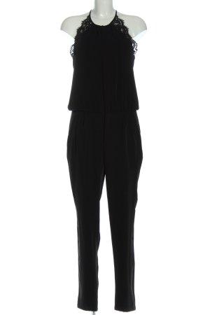 Kookai Langer Jumpsuit noir style décontracté