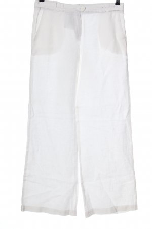 Kookai Pantalone di lino bianco stile casual