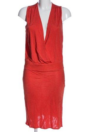 Kookai Sukienka midi czerwony W stylu casual