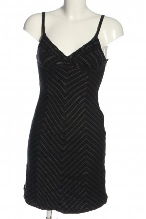 Kookai Sukienka mini czarny-w kolorze białej wełny Na całej powierzchni