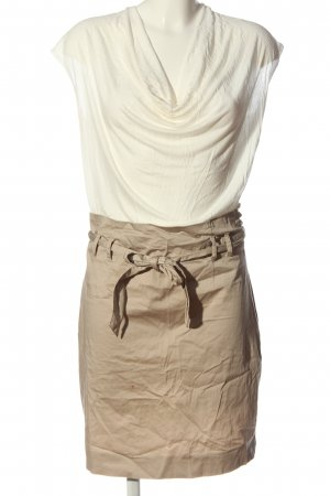 Kookai Minikleid wollweiß-braun Casual-Look