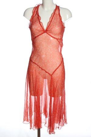 Kookai Blusenkleid rot Street-Fashion-Look