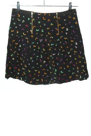 Kookai Spódnica mini Abstrakcyjny wzór W stylu casual