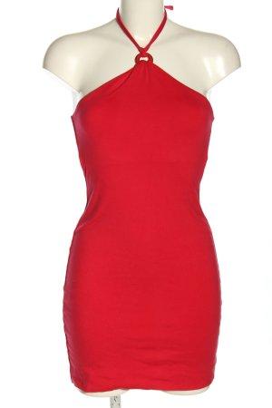 Kookai Sukienka z dekoltem typu halter czerwony W stylu casual