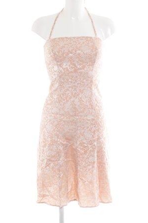 Kookai Sukienka z dekoltem typu halter w kolorze różowego złota-srebrny