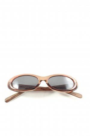 Kookai Oval Sunglasses brown casual look