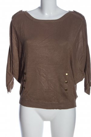 Kookai Oversized Shirt braun Casual-Look
