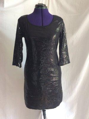Kookai Paillettenkleid in schwarz