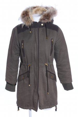 Kookai Parka braun Business-Look