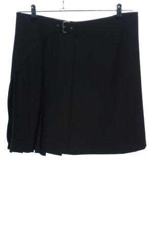 Kookai Falda plisada negro elegante