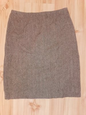 Kookai Jupe en tweed gris-marron clair