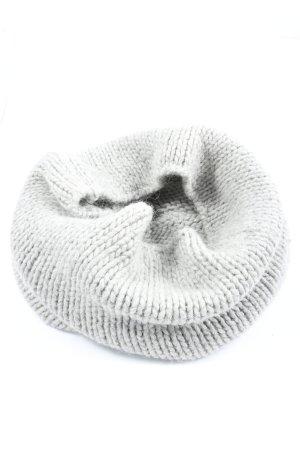 Kookai Écharpe tube gris clair style décontracté
