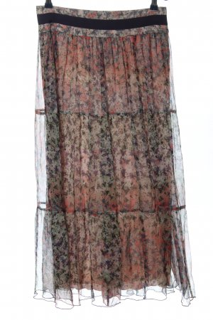 Kookai Jupe en soie imprimé allover style décontracté