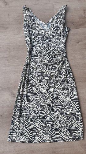 Kookai Sommerkleid zebramuster 36