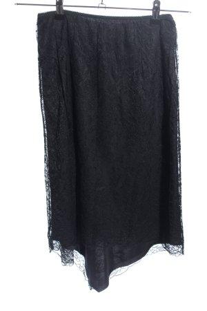Kookai Spitzenrock schwarz Casual-Look