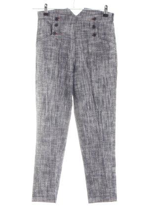 Kookai Spodnie materiałowe jasnoszary Melanżowy W stylu casual