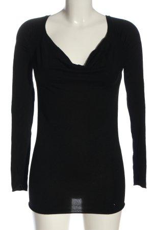 Kookai Maglione lavorato a maglia nero stile casual