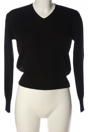 Kookai Strickpullover schwarz Business-Look