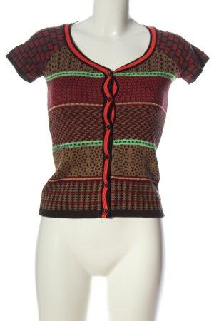 Kookai Camicia maglia motivo astratto stile casual